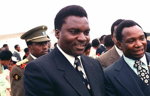 ジュベナール・ハビャリマナ大統領