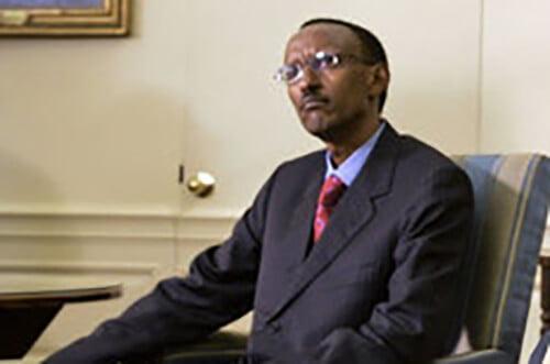 ポール・カガメ現ルワンダ大統領